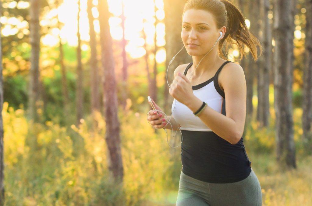 jogging pe caldura